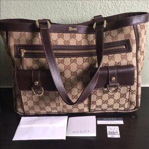 Gucci - Authentic Abbey Tote EUC
